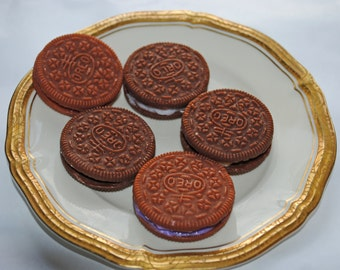 4 x Funny Oreo Cookie Soap!