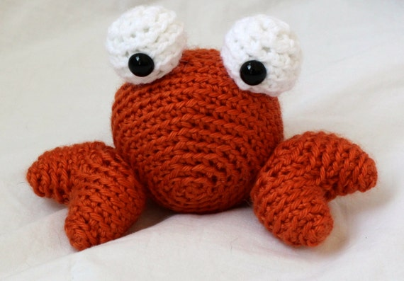 Crochet Amigurumi Crab : Crochet Crab Amigurumi by SimplyKnotCreative on Etsy