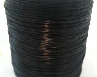 Black Elastic Fiber Wire