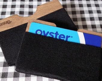 Snug slim cardholder wallet