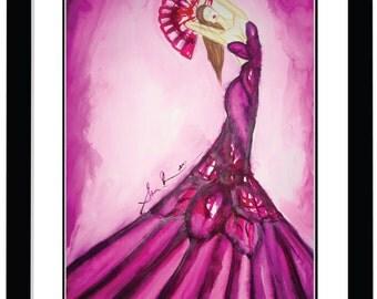 Fashion Illustration Design signed limited edition