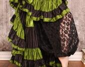 Black Lace Harem Pants - Sale