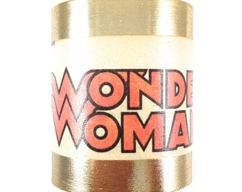 Wonder Woman Cuff Bracelet - Crest