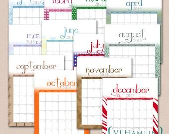 11 X 17 Blank Printable Calendars | Calendar Template 2016