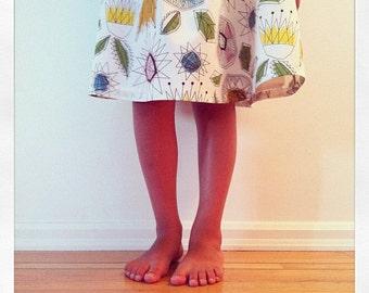 flora : modern girl dress