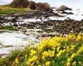 DUNNAGLEA ROCK ARCH, Ballintoy Port, Co. Antrim, Northern Ireland, Stunning Coastline, Basalt Formations, White Beach, Surreal Landscape