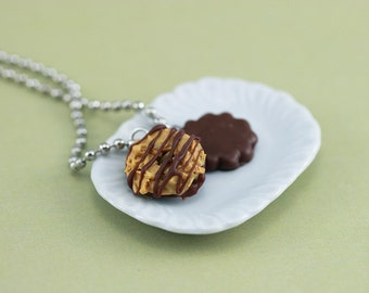 Girl Scout Cookies Necklace