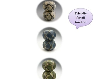 Naos Glass - Thar Be Dragons - Lampwork Tutorial Pdf File - How To DIY - Handmade lampwork beads SRA