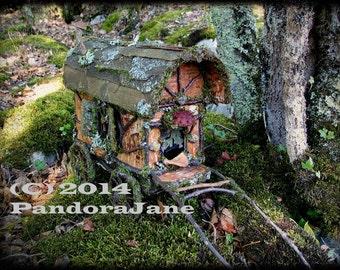 Photograph Faery Caravan in Southwest France Natural Materials