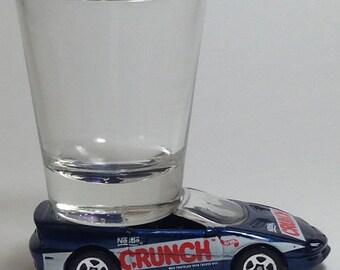 the Original Hot Shot shot glass, Nestle Crunch!, '95 Chevy Camaro, Hot Wheel, 1998 Hot Wheels Sugar Rush II series