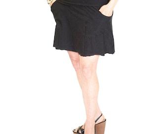 Mini skirt for yoga, MIRANDA MINI SKIRT, summer, dancewear, festival clothing, swim coverup