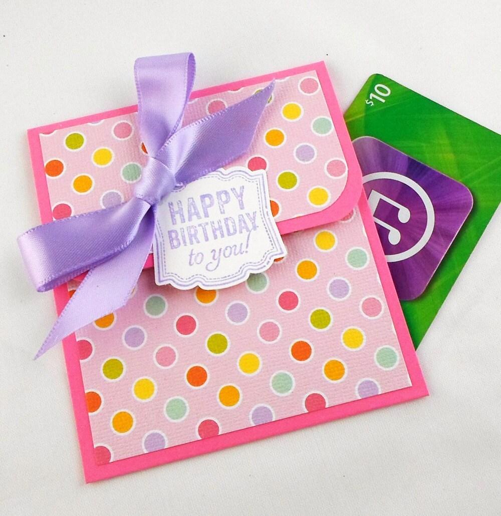 Birthday Gift Card Holder Birthday Money By AcarrdianCards