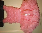 Vintage Papatu Pink Princess Costume 24 months, Snap Bottom, Pink Ruffles, perfect for your little princess.