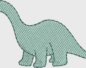 Mini Apatosaurus embroidery designs Instant Download