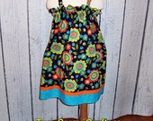 SALE - Girls Spring Sun Dress - Size 5/6 Ready to Ship