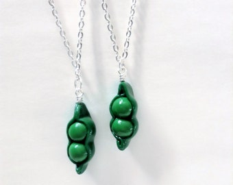 Peas in a Pod Charm Necklaces