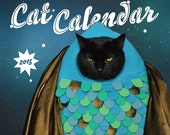 SALE - 2015 World's Most Super-Amazing 100% Awesome Cat Calendar