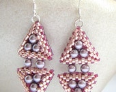 Nested Triangle Earrings tutorial
