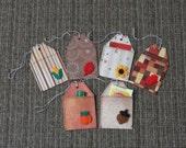 Autumn / Harvest / Thanksgiving Treat Holder / Gift Card Holder / Gift Tags