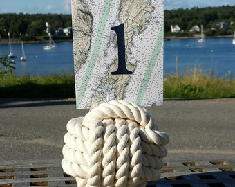 Nautical Chart Table Number