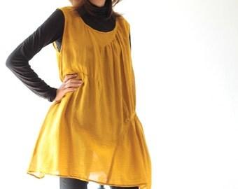 Sleeveless short Dress (1219)  one size