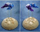 Cuttlefish Wedding Cake Topper - Custom Made for your Wedding