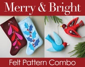 Merry & Bright PDF Pattern Combo
