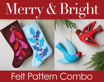 Merry & Bright PDF Pattern Combo