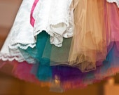 Miss Dulcie's Petticoat ~  Level 3 ~ Full tulle petticoat with rainbow tulle in your choice of colors