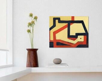 Art Print, Giclee, Poster, Architectural Print, Geometric Art, Modern Wall Decor