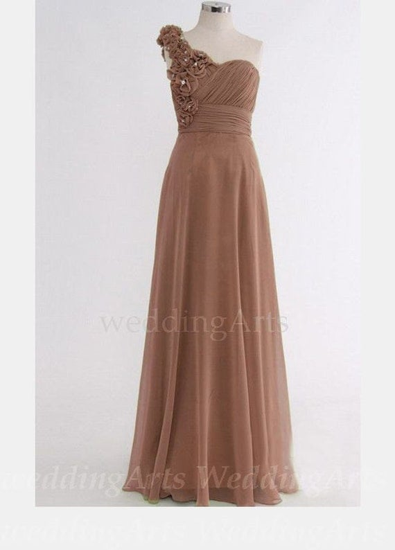 Light Brown Bridesmaid Dresses 79