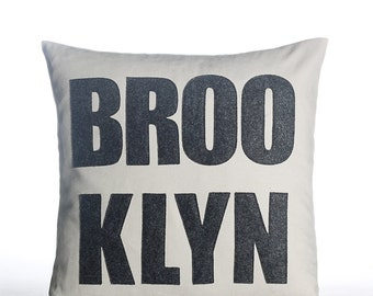 "BROOKLYN 16""x16"" - recycled felt pillow - more pillows available"