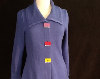 Fairground Fling Jacket Machine Knitting Pattern