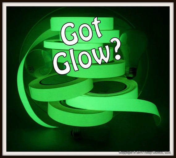 Add Photoluminescent 12 Hour GLoW TaPE to AnY Hoop Mamas Hula Hoop - MaKe YoUr HoOp GLoW In ThE DaRK (NOT SOLD SEPARATELY).