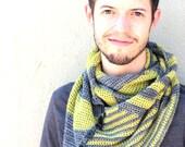 Tectonic Cowl PDF Crochet Pattern