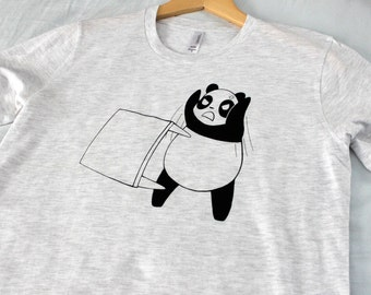 Angry Panda Flipping a Table T Shirt