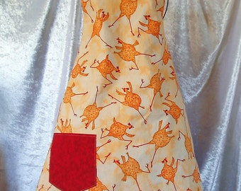 Chicken Barbeque Apron - Toddler to Adult sizes
