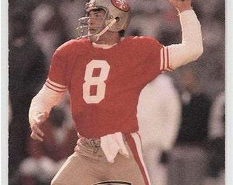 1990 ProSet STEVE YOUNG Official NFL Football Card