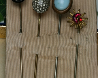 Vintage Lot of Stick Pins - 4pc