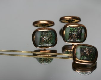 Vintage Cufflink and Stick Pin Set