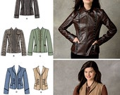 Ladies' Jackets and Vests - Simplicity 2341 - New Sewing Pattern, Sizes 6, 8, 10, 12 and 14