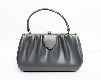 1950s Grey Handbag