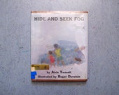Hide and Seek Fog by Alvin Tresselt, 1966 HC Roger Duvoisin Illustrations Library Binding Hardcover with Dust Jacket Third Printing