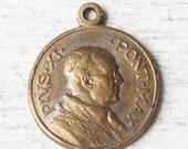 Vintage Religious Medal -- pope Pius XI