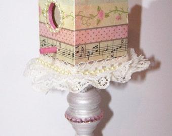 Decorated Birdhouse, Birdhouse, Home Decor, Whimsy, Fairytale Decor, Castle, Free Shipping, Nursery Decor, Gift for Her, Princess Nursery,