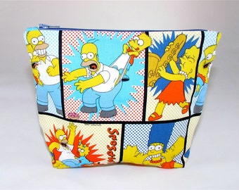 POUCH- The Simpsons ***Handmade** **Made to Order***