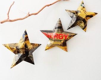 Arizona RX Energy Herbal Tonic by Arizona, Christmas Ornaments, Can, Upcycled , Stars, AZ