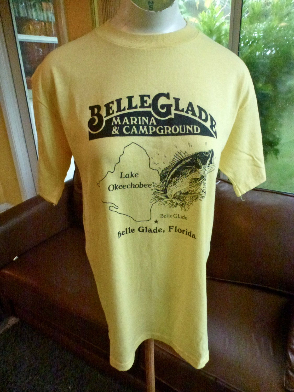 Lake okeechobee fish camp florida 1980s belle glade soft for Lake okeechobee fish camps