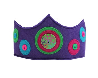 Groovy Polka Dot Crown