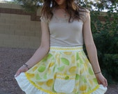 APRON Hostess with the Mostest  Lemon and Lime Apron